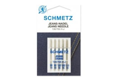 130/705 H-J Schmetz иглы джинс (набор 5 шт.)