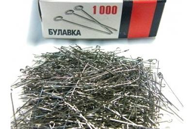 Булавки швейные (1000 шт.)