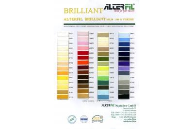 Цветовая карта ALTERFIL Brilliant