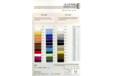 Цветовая карта ALTERFIL Dip 20