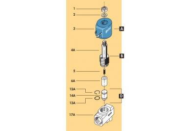Электроклапан 1/2' CEME 9014