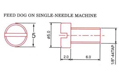 Винт двигателя ткани