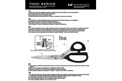 """Ножиці KAI 7250 10""""/25см (Японія)"""