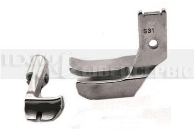 Лапки потрійний транспорт S32 для шнура