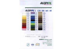 Цветовая карта ALTERFIL L 40/60/80