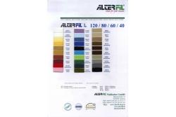 Цветовая карта ALTERFIL L 40/60/80