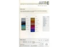 Цветовая карта ALTERFIL Metallic