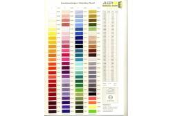 Цветовая карта ALTERFIL SB 40 вышиальные нити